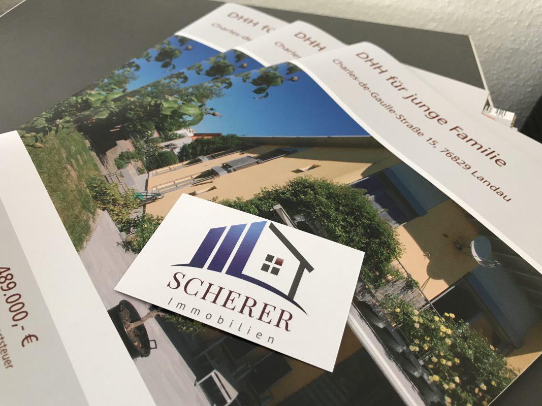 Logo Scherer Immobilien Landau in der Pfalz